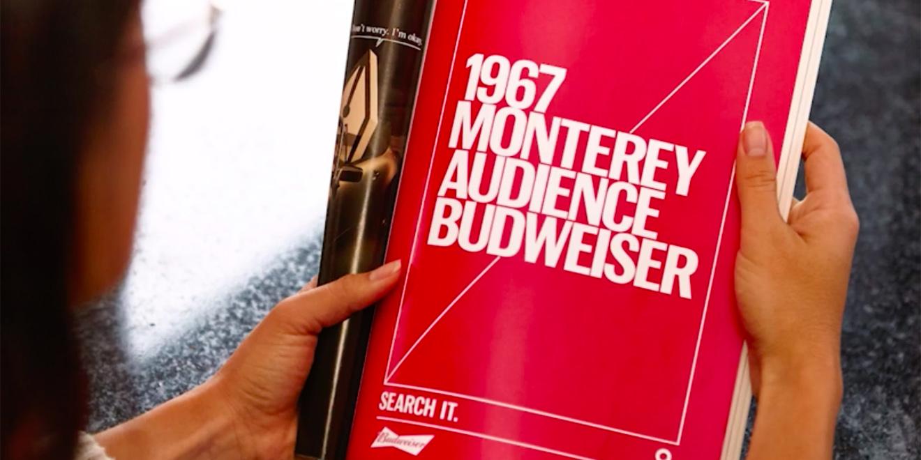 """Budweisers """"Tagwords""""-Kampagne"""